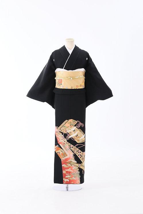 鶴と松 T-07