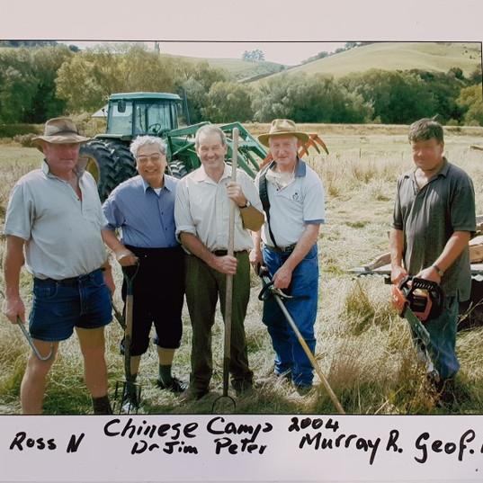 Camp helpers 2004