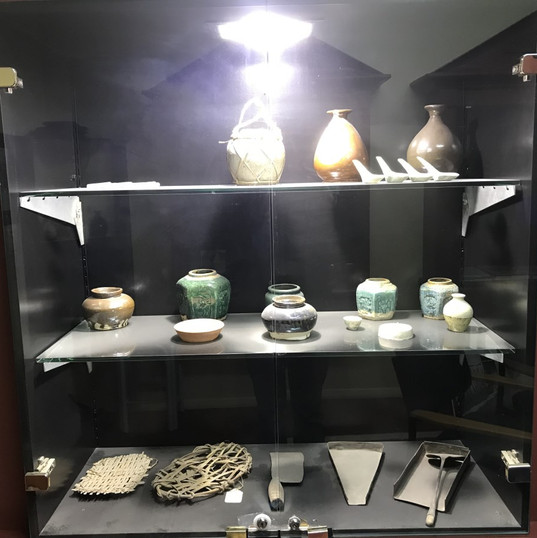 Artefacts at Lawrence Museum