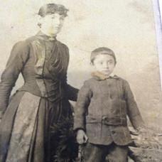 Grace and son Robert Tie
