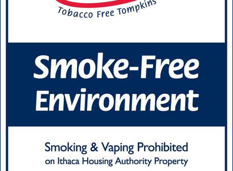 Ithaca Housing Authority Goes Fully Smoke-Free on May 1
