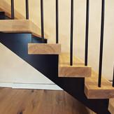 Cracken Edge Barn Industrial Staircase