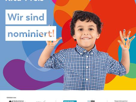 Nominiert für den Deutschen Kita-Preis 2021