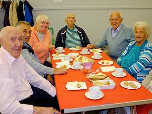 DC7429 19 Cottingley OAP Tea Party Guest