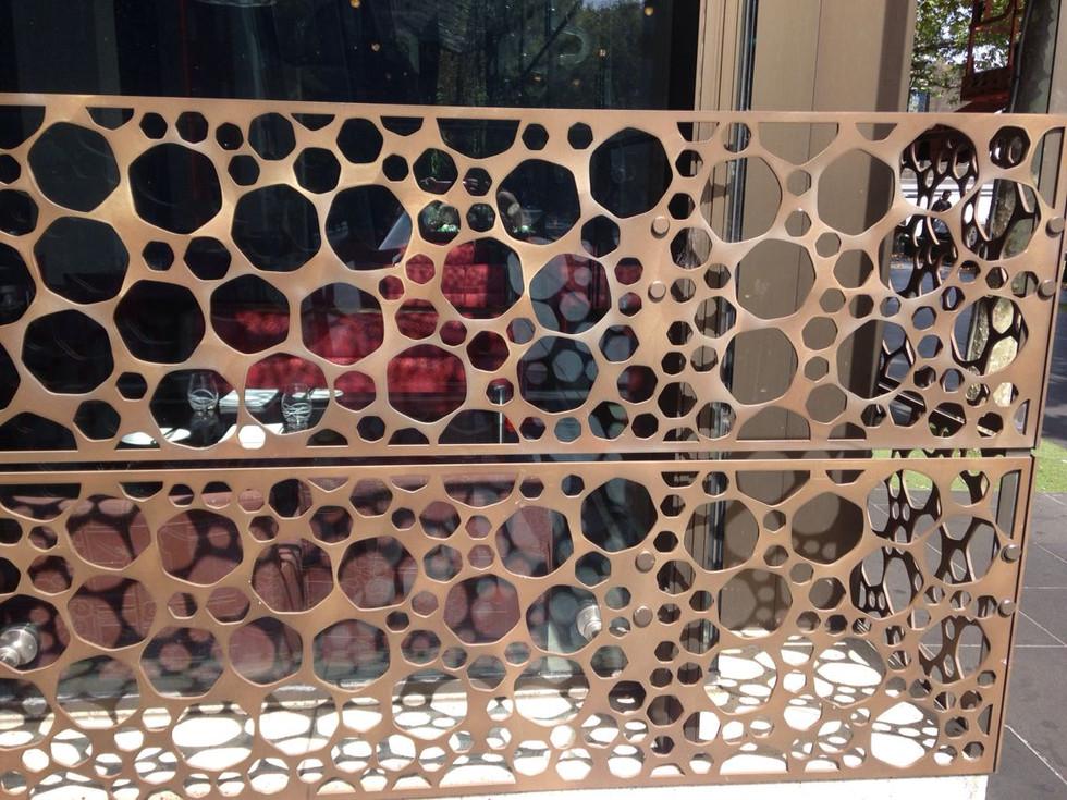 Circle Pattern Panels