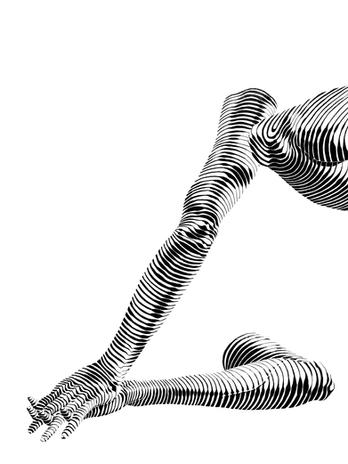 Arms close-up