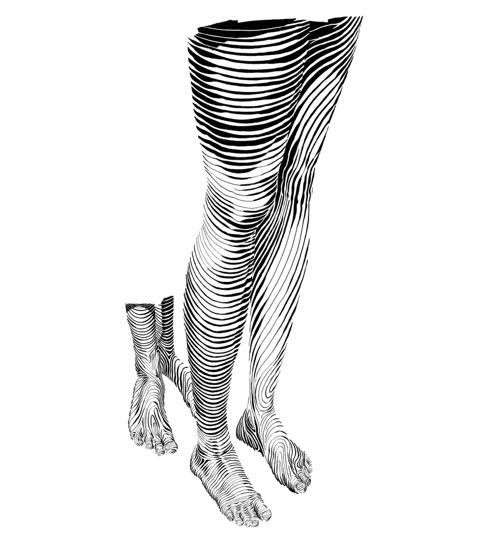 Legs close-up