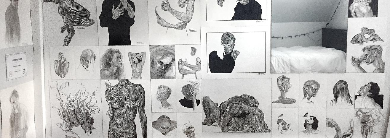 Artworks of Dominic Depeyre