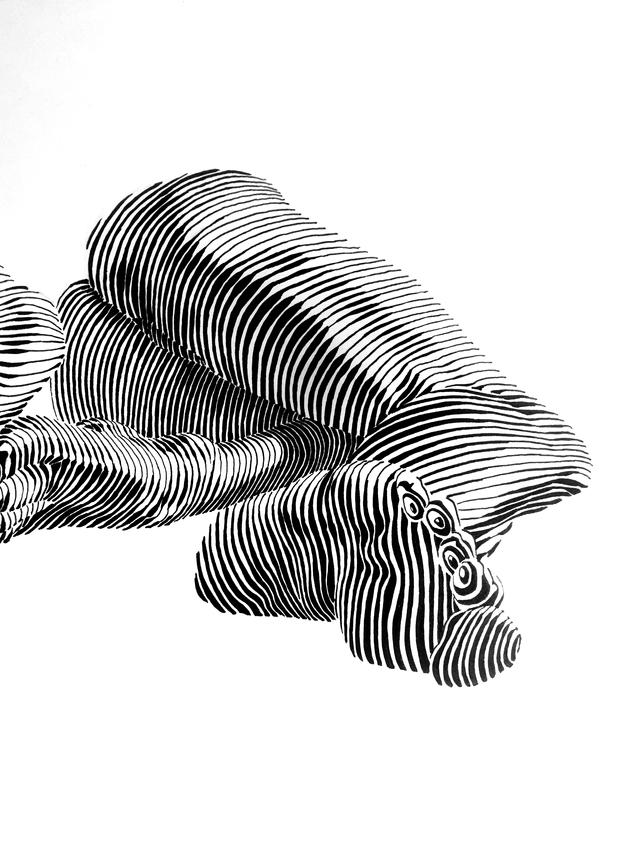 Back figure detail