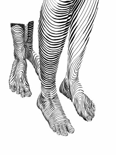 Feet close-up