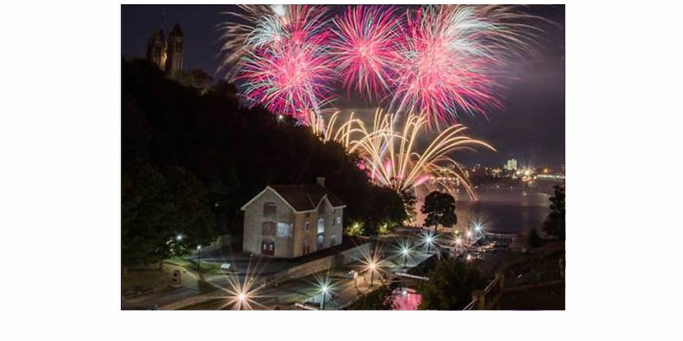 Boat Cruise and Firework viewing on Ottawa River