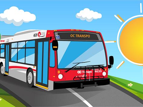 OC Transpo June Service Change