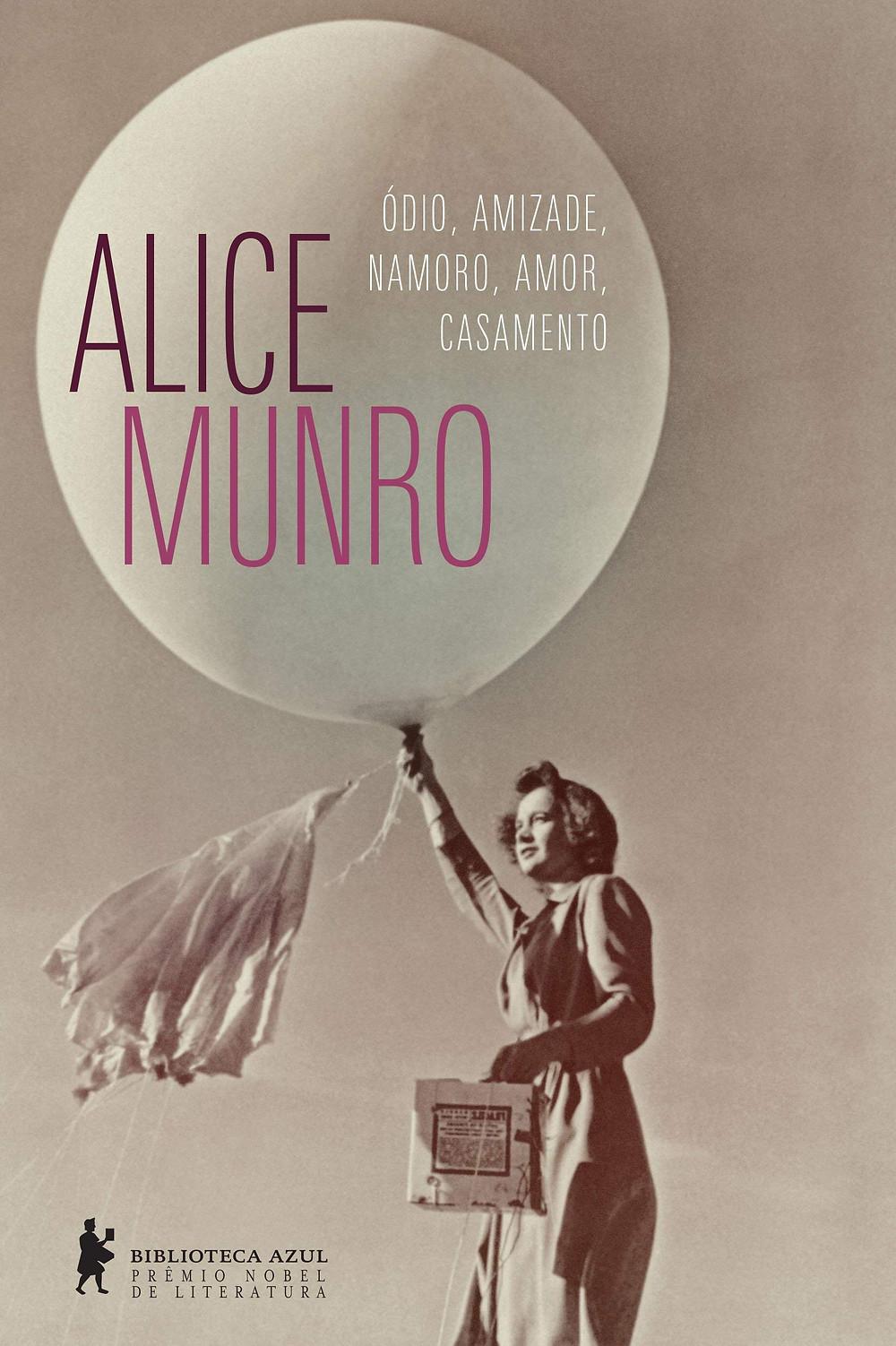 capa do livro de Alice Munro