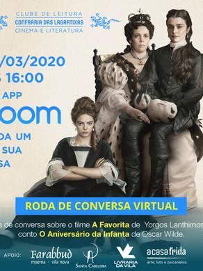 Link de Acesso: A Favorita e o Aniversário da Infanta (Roda de Conversa Virtual - Zoom)
