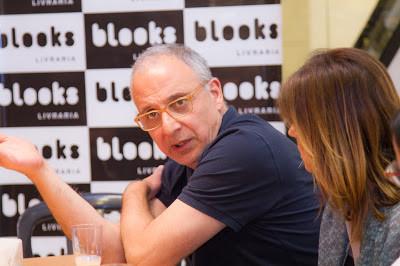 Confraria das Lagartixas na Blooks Livraria