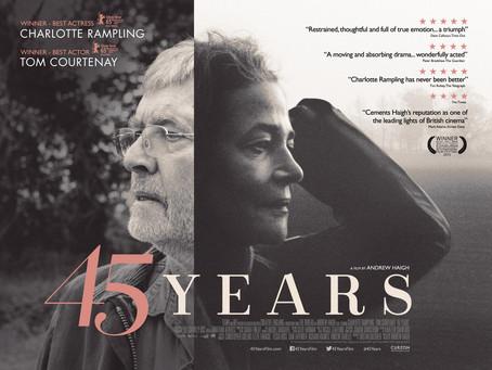 """CINEMA & LITERATURA: O esqueleto no armário - no sótão da mente: Andrew Haigh em """"45 Anos&q"""