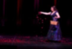 Cassidy Smith singin Suzuki at Auditorium Theate, Chicago, IL