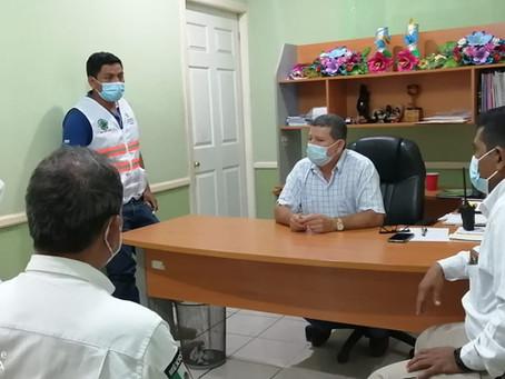 Personal de la Secretaria de PC del Estado realizan recorrido preventivo en el Municipio