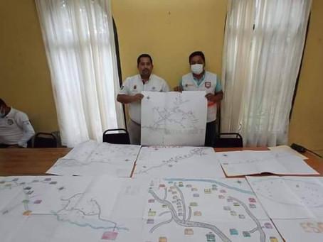 Secretaria Municipal de Protección Civil entrega Plan de Prevención y Resiliencia Comunitaria