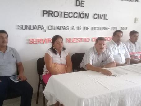 Instalan Consejo de Protección Civil