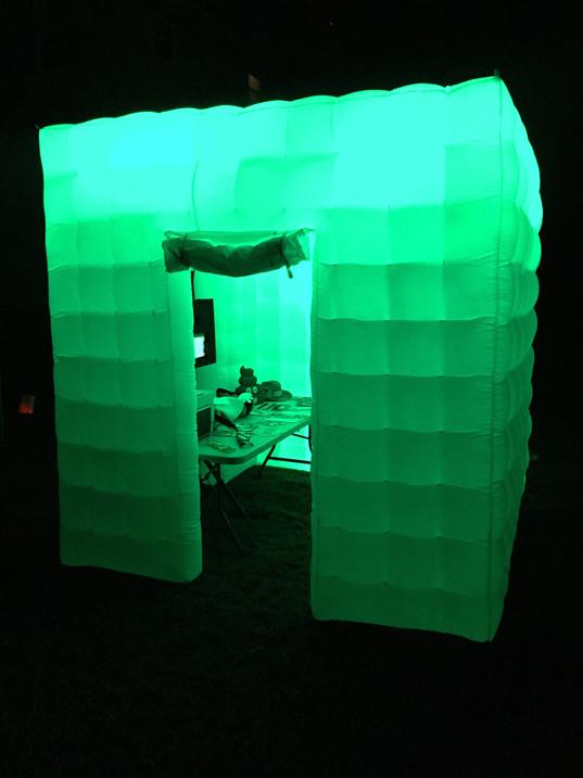 Inflatable + Dim Lighting = Beautiful