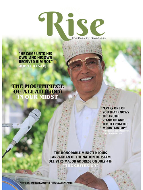 Rise Magazine September 2020 Issue Digital
