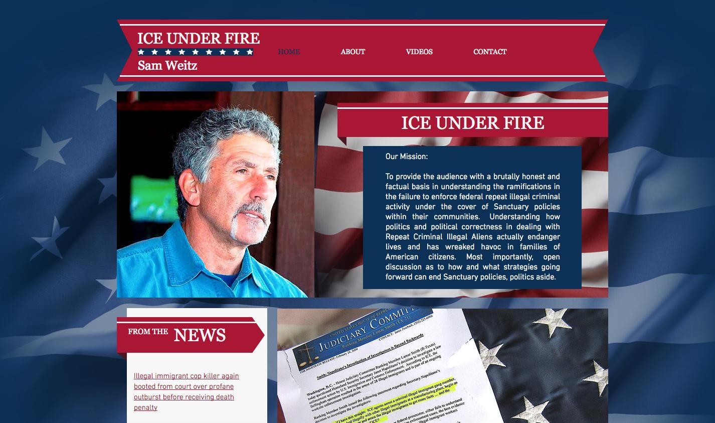 Ice Under Fire