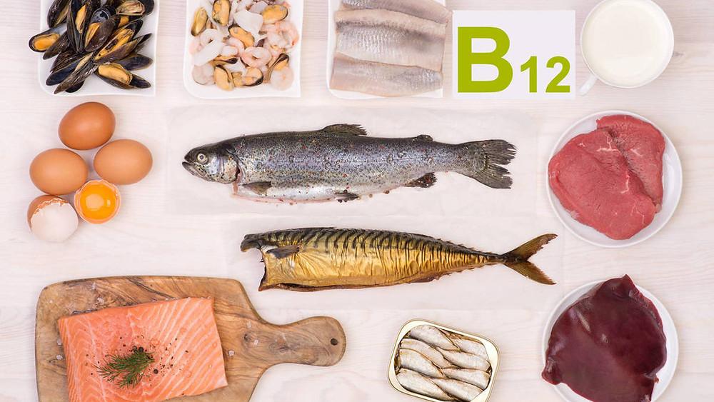 La vitamina B12 se encuentra en muchos alimentos