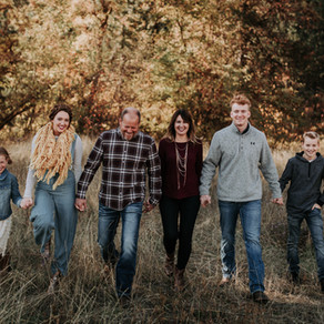 Family Photography on a Christmas Tree Farm and in the Woods in Coeur d'Alene, Idaho