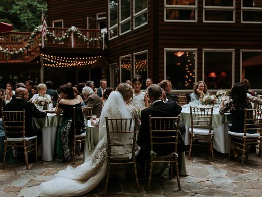 Intimate Wedding at Lush Forest Property in Maryland