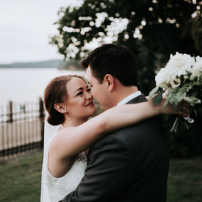 Coeur d'Alene Idaho lakefront Wedding at the Jewett House