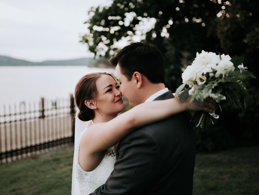 Coeur d'Alene Idaho lakefront Wedding at the Jewett House