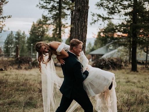 Backyard Wedding in Coeur d'Alene CDA Idaho