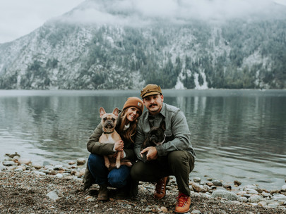 Wedding Anniversary - Couples Session at Farragut State Park in Idaho