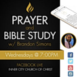 WED Prayer  Bible Study - Made with Post