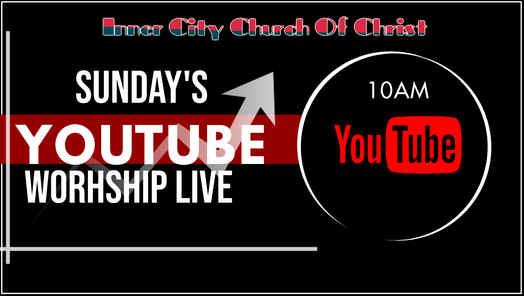 Sermons Live YOUTUBE