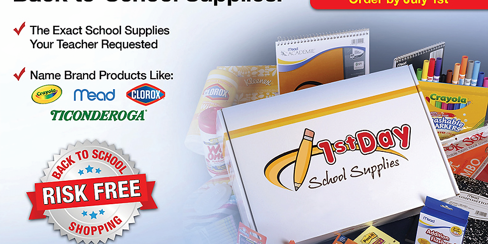 Supply Kit Sale for School Year 2021-2022