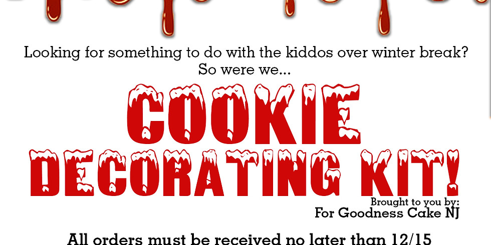 Cookie Decorating Kit Sale