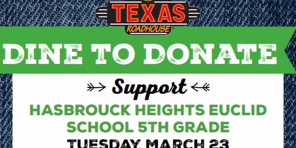 Texas Roadhouse 5th Grade Fundraiser