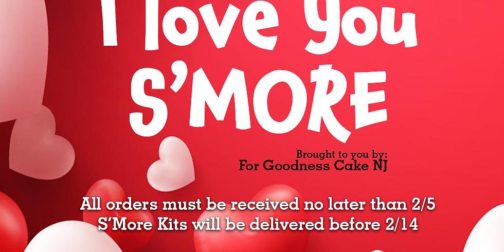 Valentine S'mores Kit