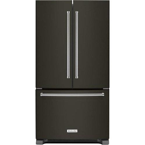 KitchenAid 25 Cu. Ft. 36-Width French Door Refrigerator (KRFF305EBS)