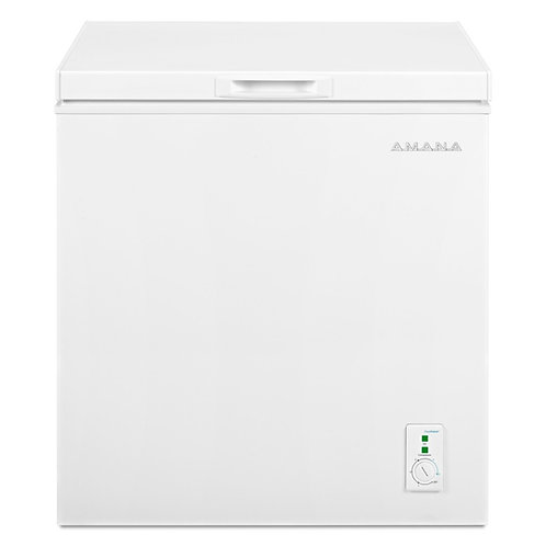Amana® 5.3 Cu. Ft. Compact Freezer With 2 Rollers (AQC0501GRW)