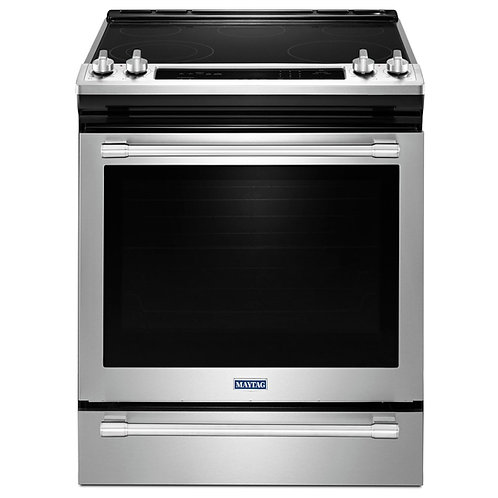 Maytag 30-inch Wide Electric Range w/ True Convection - 6.4 Cu. Ft. (YMES8800FZ)