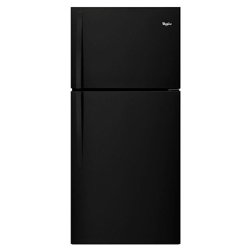 "Whirlpool 30"" Wide Top-Freezer Refrigerator (WRT549SZDB)"