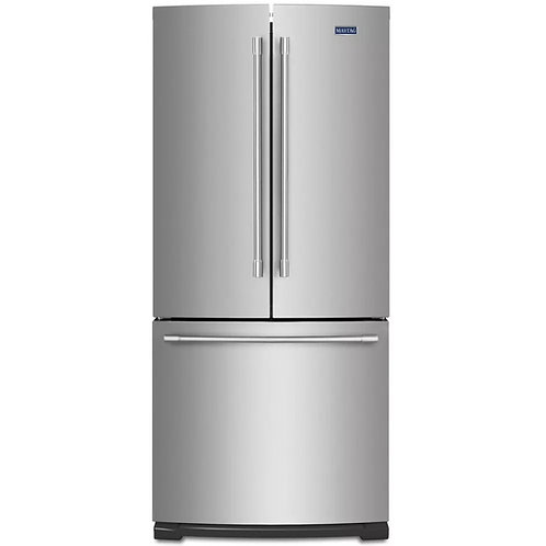 Maytag 19.6 Cu Ft French Door Refrigerator W/ Strongbox™ Door Bins (MFB2055FRZ)