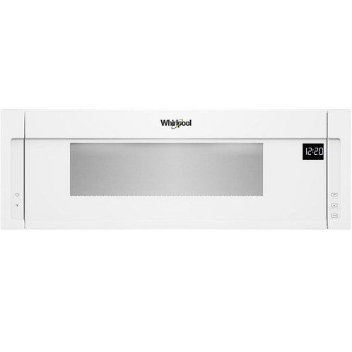 Whirlpool 1.1 cu. ft. Low Profile Microwave Hood Combination (YWML55011HW)
