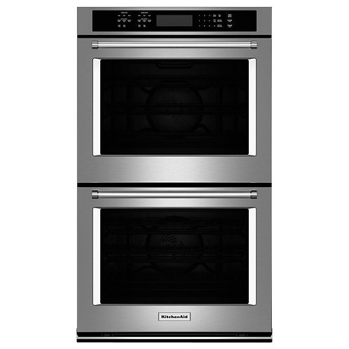 "KitchenAid 30"" Double Wall Oven (KODE500ESS)"