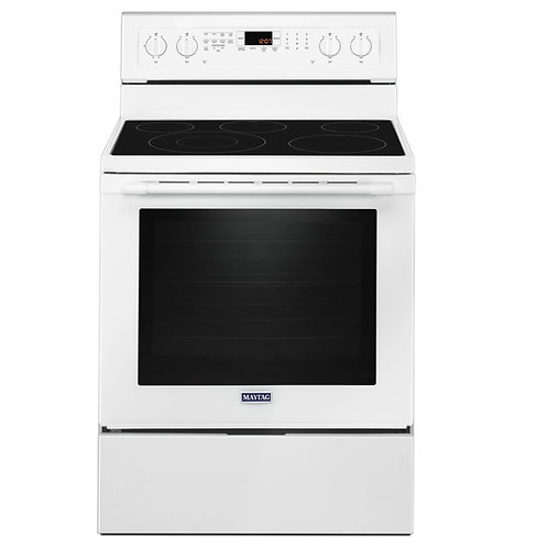 Maytag 30-inch Wide Electric Range - True Convection (YMER8800FW)