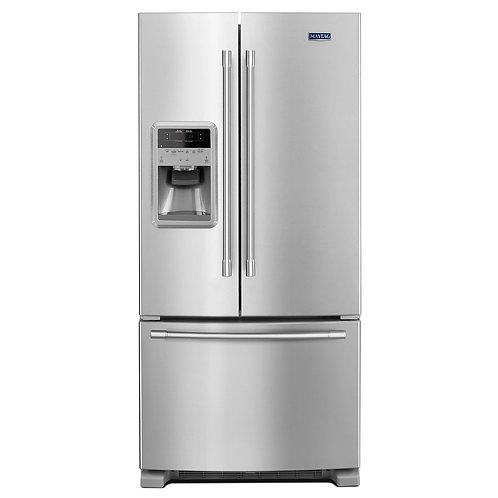 Maytag® 33- Inch Wide French Door Refrigerator - 22 Cu. Ft. (MFI2269FRZ)