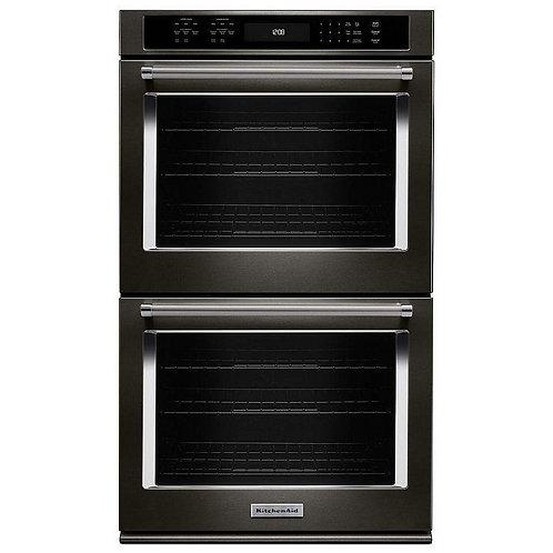 "KitchenAid 30"" Double Wall Oven (KODE500EBS)"